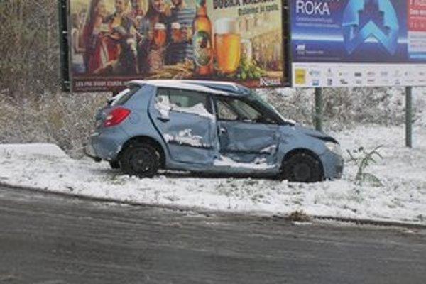 Nehoda pri Levoči.