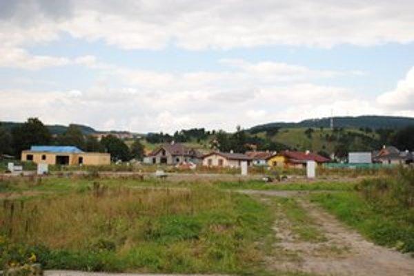 Stavebný boom. Zaznamenala ho aj obec Hôrka.