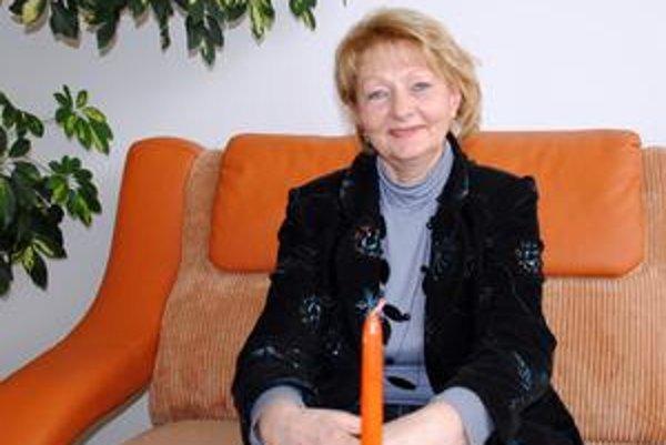 Riaditeľka knižnice. Anna Balejová pre množstvo projektov teraz paradoxne nemá dostatok času na čítanie kníh.