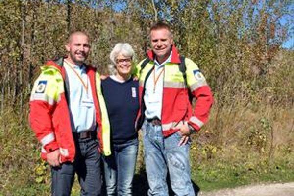 Švédski záchranári Richard Svedjesten, Marie Nordgren a Fredrik Johansson hovoria, že Tatrami sú očarení.