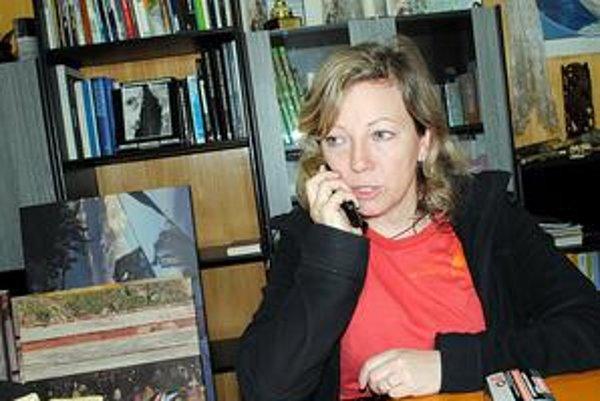 Riaditeľka festivalu horských filmov Mária Hámorová si od najväčšieho pracovného náporu vydýchne až v nedeľu po skončení podujatia.