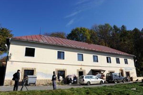Budova pod hradom, v ktorej bol najstarší slovenský liehovar.