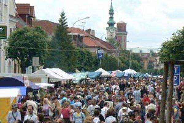 EĽRO. Festival je vrcholným podujatím kežmarského leta. Tohto roku bol dvadsiaty ročník.
