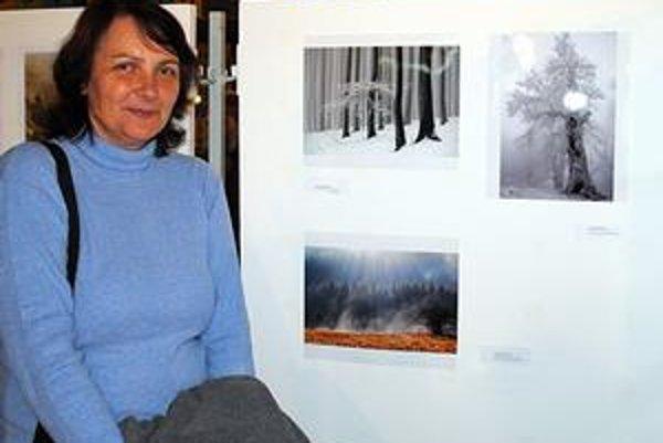 Andrea Grunská. Košičanka žijúca v Bratislave triumfovala zimnými snímkami.