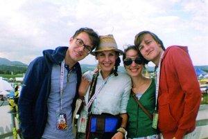 Festivalová fotka z minulého leta.