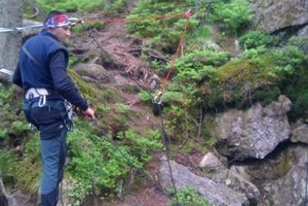 Záchrana. Mŕtveho 52–ročného Estónca vytiahli z dravej vody horskí záchranári.