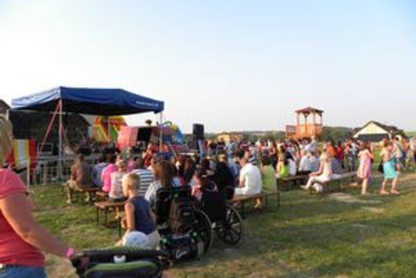 Na oslavách vo Veľkej Lomnici sa v priebehu dvoch dní zabavilo až 1 400 ľudí.