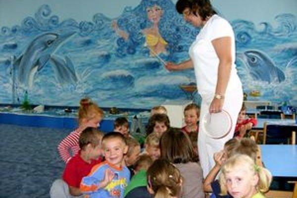 Soľná trieda. Na Záborského majú relaxačnú triedu, v ktorej sa deti pravidelne striedajú.