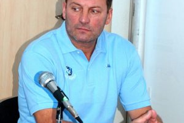 Ján Jaško. Tréner HK Autofinance Poprad.