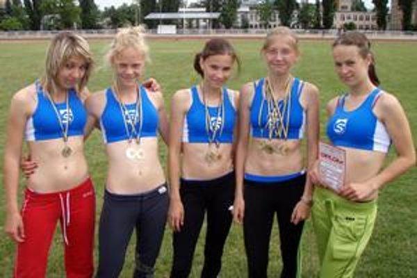 Podtatranské talenty. Mladé Sviťanky s cennými medailami.