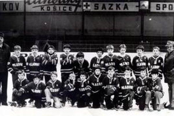 Úspešní mládežníci - popradskí majstri SR 1976/77.