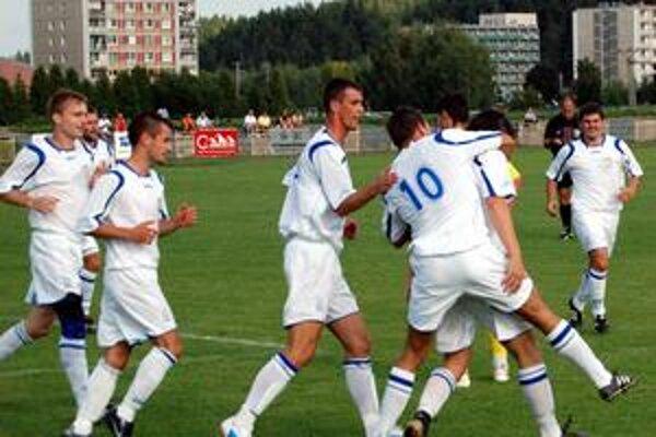 Radosť po góle. Svitu vyšiel úvod sezóny výborne.