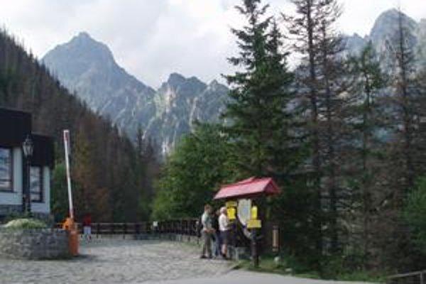 Hrebienok. Patrí k najnavštevovanejším miestam v Tatrách.