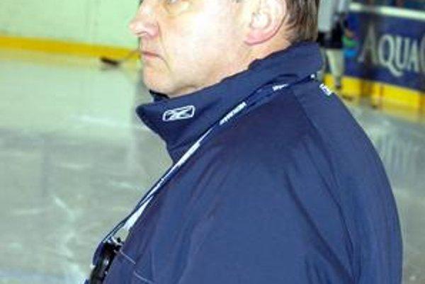 Tréner Vladimír Klinga. Popradčania v príprave zatiaľ víťazia.