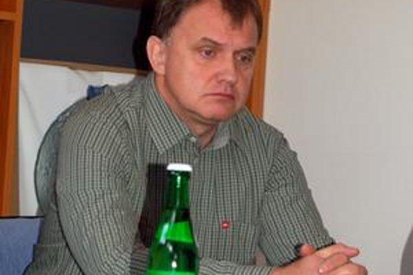 Tréner Vladimír Klinga.