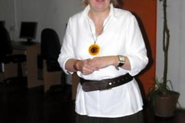 Riaditeľka. Ivana Šipošová je konaním neznámeho autora nemilo prekvapená.