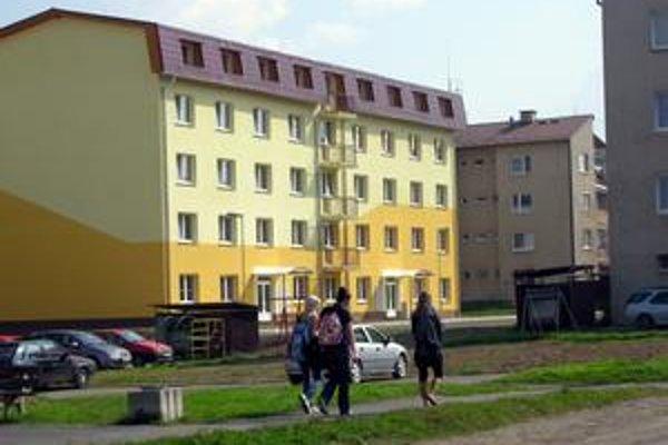 Nová bytovka. Mesto ju dalo postaviť na sídlisku na Štúrovej ulici.