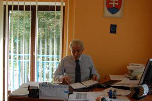 Jozef Klíma. Požiadal o odvolanie z funkcie riaditeľa kežmarskej nemocnice.