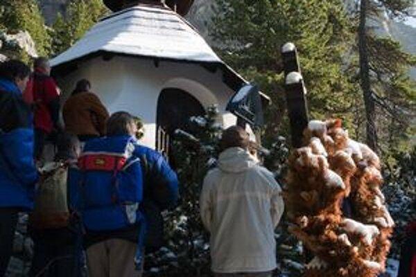 Symbolický cintorín pod Ostrvou bol miestom tradičnej spomienky na obete Tatier.