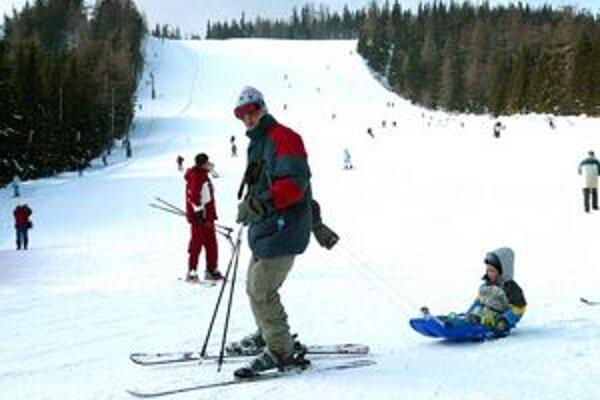Pravá zimná lyžiarska pohoda je zatiaľ v nedohľadne.