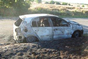Auto kompletne zhorelo.
