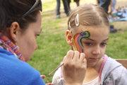 Deti čaká aj maľovanie na tvár.