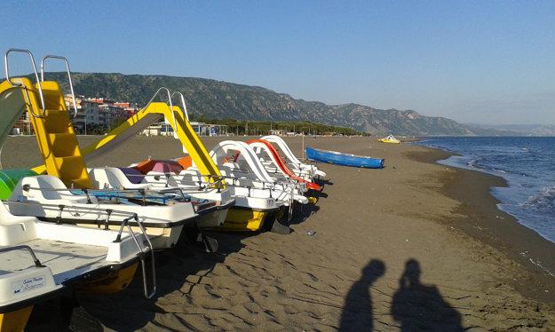 Pláž Velipoja je centrom turizmu v severnom Albánsku.