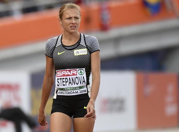 Stepanovovej štart na OH zakázali. Teraz má však iné starosti.