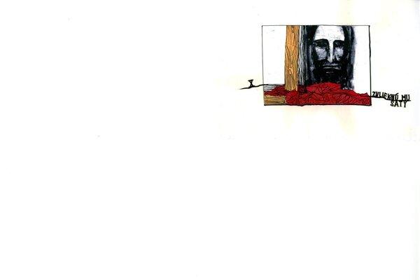 Ilustrácia Fera Guldana k Dnes píše