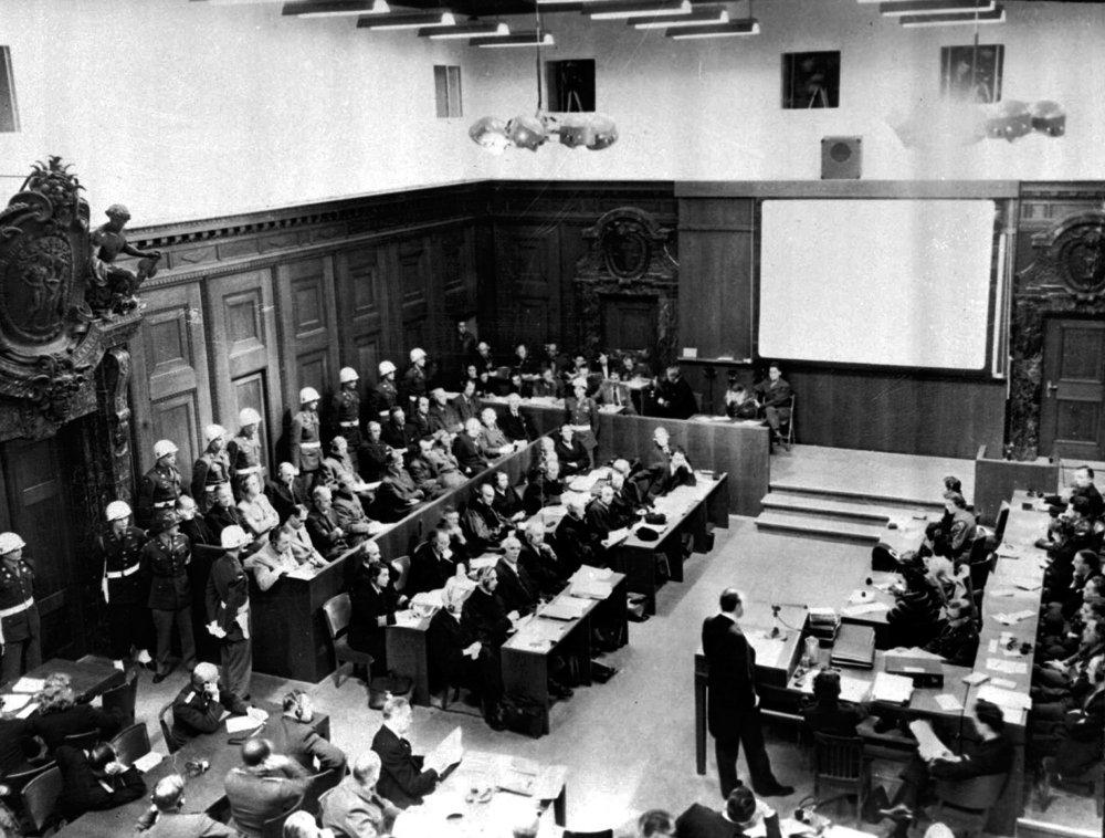 Norimberský proces.