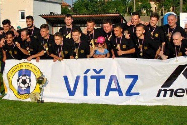 ŠK Šurany juniori - víťaz VIII. Ligy ObFZ Nové Zámky