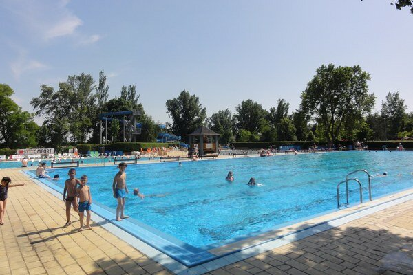 Otvorenie letnej sezóny na Štrande - 29. mája.