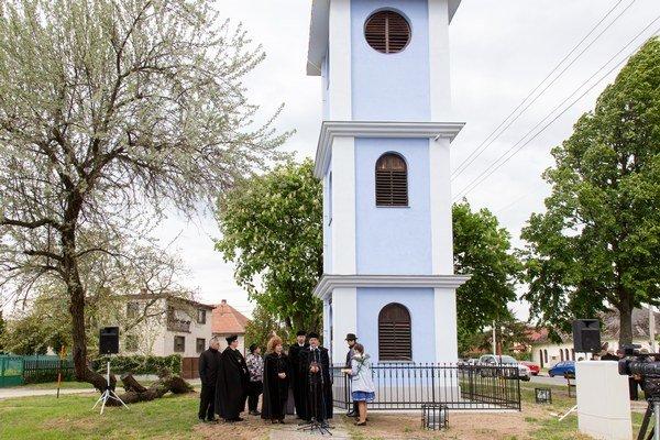 Renovovaná zvonica.