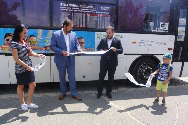 Slávnostné spustenie tohtoročnej linky Štrandbusu.