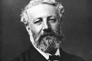 Jules Verne, ako ho odfotil Nadar.