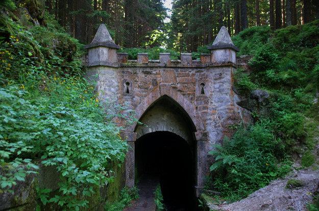 Schwarzenberský kanál prekonával povodie Vltavy a vlieval sa do jedného z prítokov Dunaja. Vybudovali na ňom aj asi 400 metrov dlhý tunel so zaujímavými vstupnými portálmi.