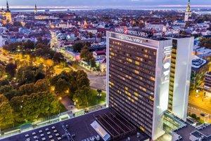 Hotel Viru v estónskom Tallinne.