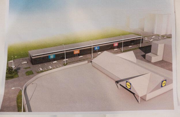 Takto by mal plánovaný stop shop vyzerať.