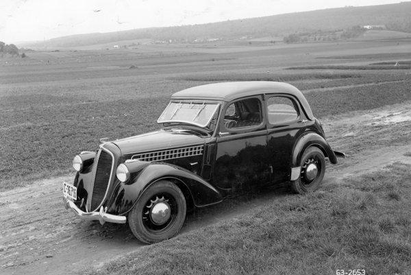Škoda Rapid (1935 – 1938).