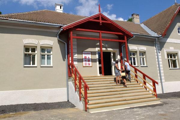Nové návštevnícke centrum.