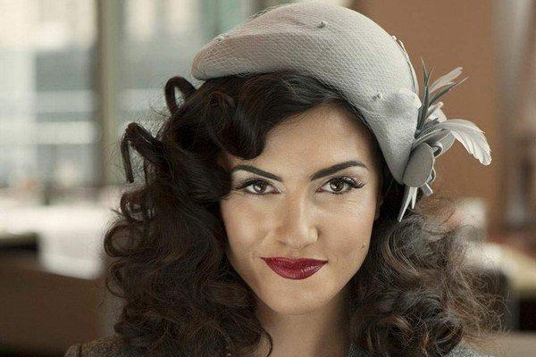 Krásna herečka. Lucia je obľúbená najmä u českých režisérov.