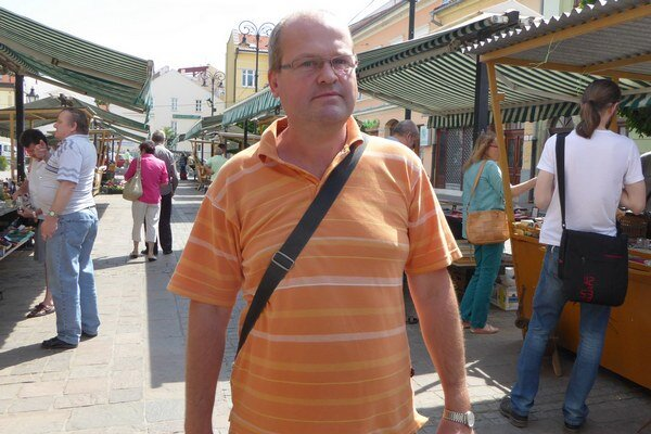 Trh na Dominikánskom. Obľúbené miesto pre burzy.