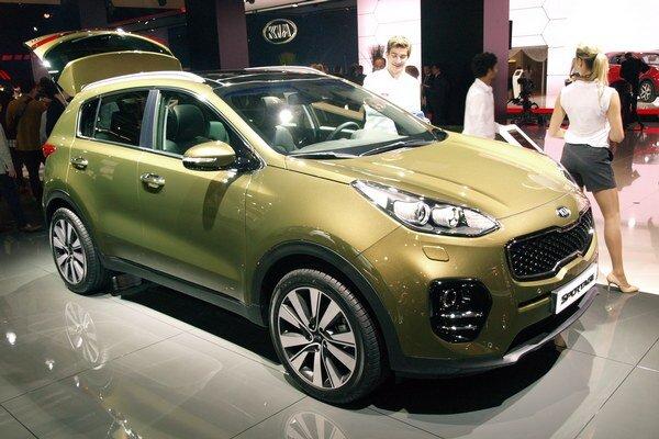 Kia Sportage štvrtej generácie. Sportage sa vyrába v žilinskom závode Kia Motors Slovakia a Slovensko je prvým trhom, na ktorom sa tento model začal vyrábať.