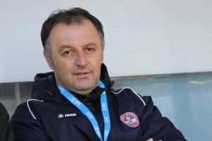 Tréner Bardejovčanov Jozef Kukulský.