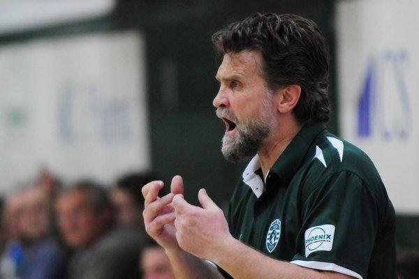 Tréner Rastislav Trtík.
