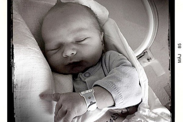 Martinko je už na svete. Drobec sa narodil 15. 5. 2015.