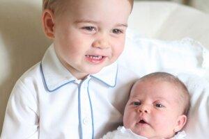 Rozkošní súrodenci. Odfotila ich vlastná mama princezná.