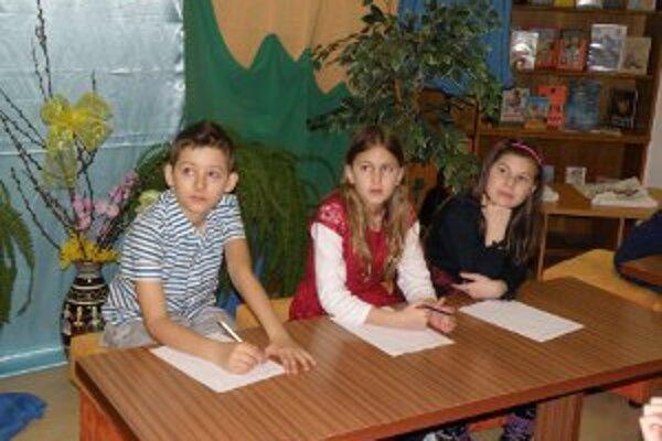 Olympiáda bola venovaná malým čitateľom a ich vedomostiam o knihách.