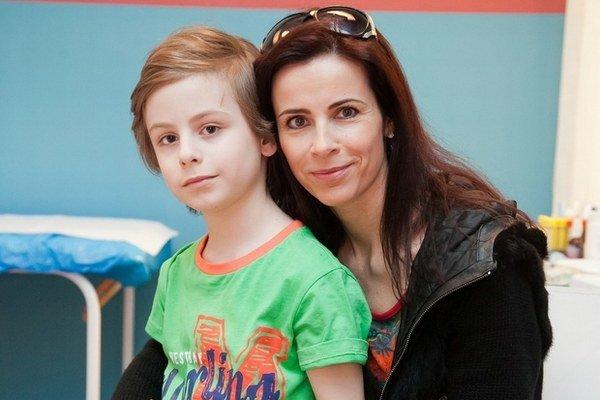 So synom Filipkom. Ona v seriáli stvárňuje Renátku, on Milanka.