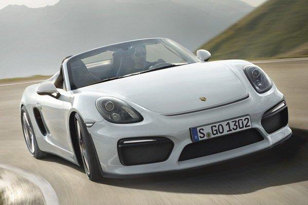 Nový Porsche Boxster Spyder. Za miesto premiéry nového Boxstera bol zvolený New York, pretože USA sú pre firmu Porsche najvýznamnejším trhom.
